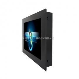17寸上架式壁挂式电阻触摸屏工业一体机