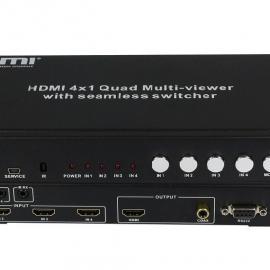 HDMI四画面分割器/画面切割器/切割器/合成器/分屏器