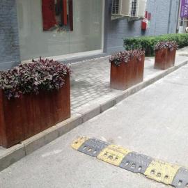 深圳铁锈钢板景墙 | 锈色耐候钢//旧旧的铁锈色