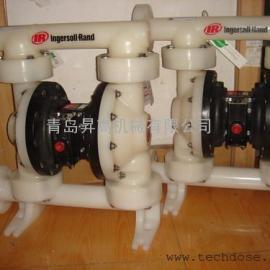 ARO气动隔膜泵 PVDF材质耐强酸碱 PD15P