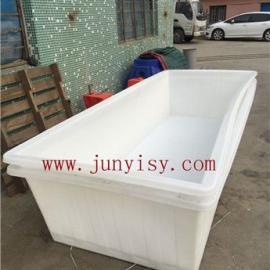 深圳3200*1200*700方形塑料箱 装矿水方形箱