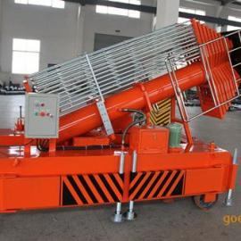 供应唐山铝合金套缸式液压升降平台-天越机械