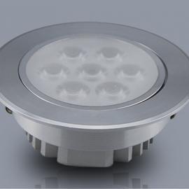 旷宇照明LED天花灯7W厂家质保二年