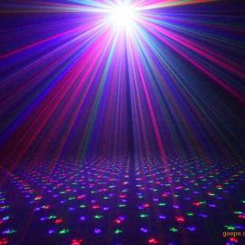 供应满天星激光灯 户外防水插地灯 红绿蓝激光草坪灯 镭贝森