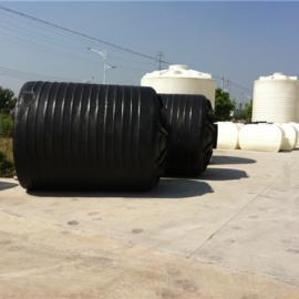 10吨PE塑料水箱 10立方复合储罐 化工防腐塑料合成罐