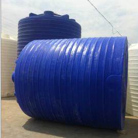 供应10吨聚乙烯防腐罐 立式水箱 滚塑PE桶