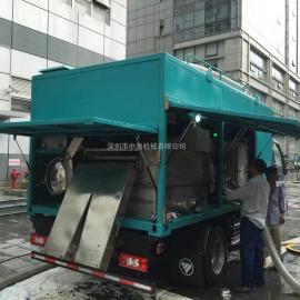 三零一中海机械 污水处理设备 自动化化粪池吸粪清掏车