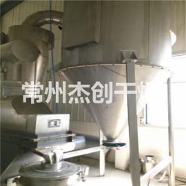 流化床干燥机常州杰创特价供应 ZLG系列振动流化床面包糠烘干机