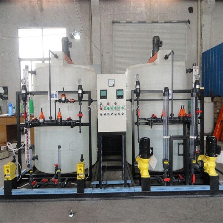 全自动缓蚀杀菌加药装置 锅炉加药装置全自动加药系统