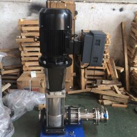 不锈钢离心多级水泵,智能变频多级管道泵,变频边立式多级泵