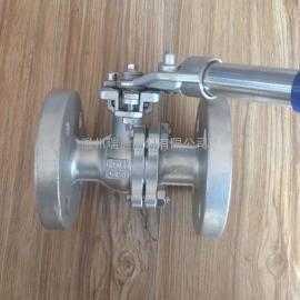 不锈钢弹簧自动复位球阀