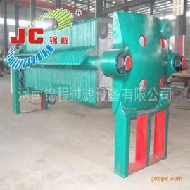 河南锦程压滤机800型聚丙烯机械压紧板框式压滤机/18-J