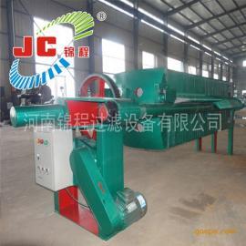 河南锦程压滤机800型聚丙烯机械压紧板框式压滤机/17-J