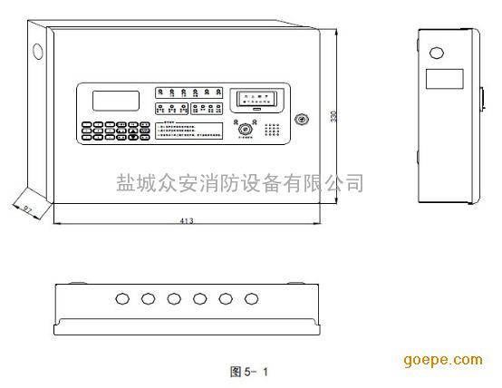 gst-qkp01气体灭火控制器 /火灾报警控制器(简称为gst-qkp01)是海湾