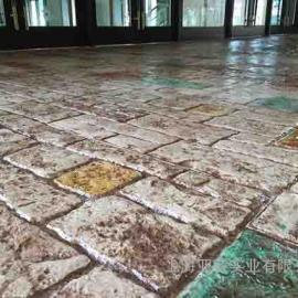 压花路面材料|压印混凝土报价|压模地坪模具
