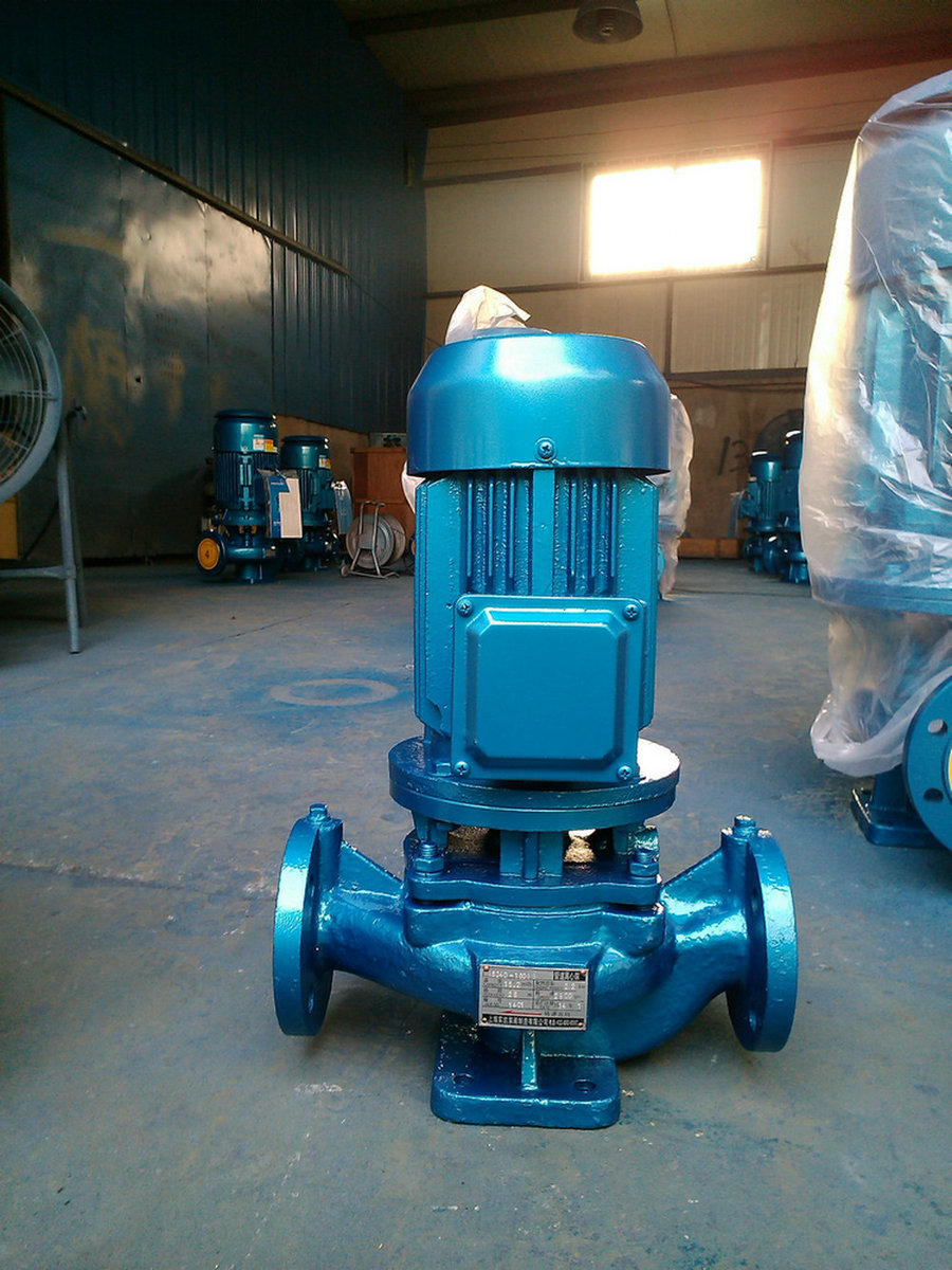 管道泵ISG80-160,清水泵,热水泵