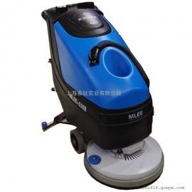 电动手推式洗地机 物业保洁用洗地机 停车场用电动洗地机