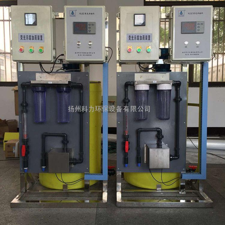 专业生产全自动示踪控制加药设备PH电导率腐蚀速率浊度全检测