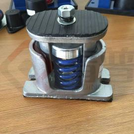 风机公用减震器|可调式阻尼绷簧减振器|ZTG绷簧隔振器