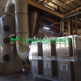 造粒机烟气处理造粒厂废气处理方法