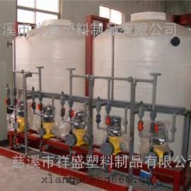 马尾2吨丙烯酸脂弹性防水涂料搅拌罐、2000L水泥基渗透