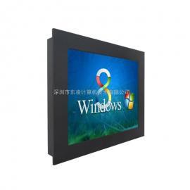 19寸嵌入式工业电脑WINCE/LINUX系统支持来电开机