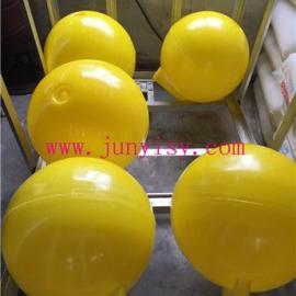 海南40公分警示塑料浮球 海口400CM海上塑料浮球