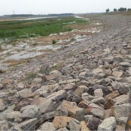 利众边坡支护铅丝笼 渠道修建铅丝石笼 江河迎水面防护格宾笼