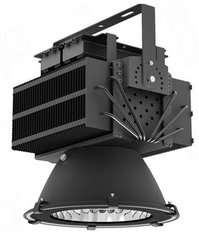 鳍片超频三投光灯LED300W