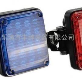 JY-100【红蓝对闪工程车警灯】_方块爆闪灯