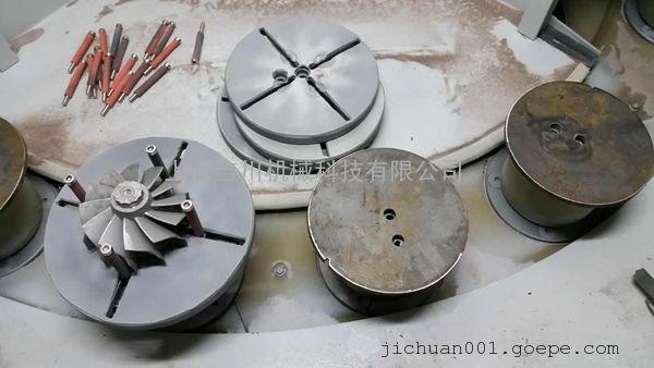增压器叶轮专业喷砂设备