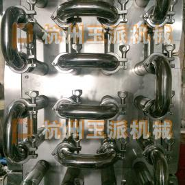 管道式牛奶速冷系统/不锈钢管道式牛奶快速制冷系统