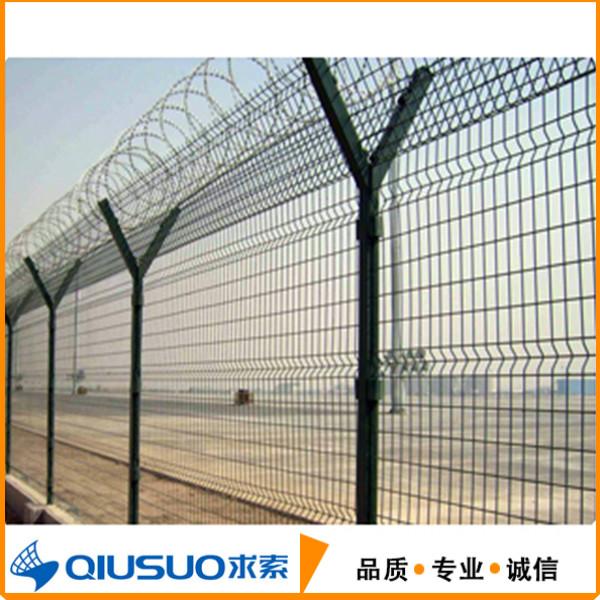 机场围栏网@Y型机场围栏网@辽宁机场围栏网厂家@【求索丝网】