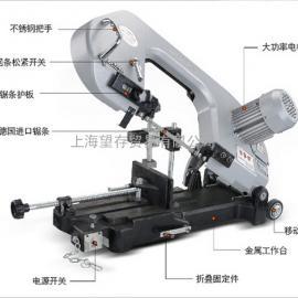 台湾小锯床 半自动手提式带锯床 小台锯 DLY-18F1