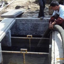 武汉黄陂区污水池淤泥清理 化粪池清理 清抽隔油池 管道疏通