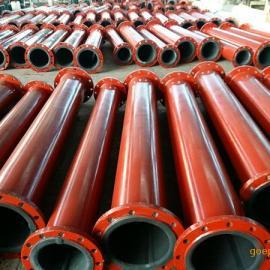 防腐脱硫衬胶管 脱硫橡胶管道种类