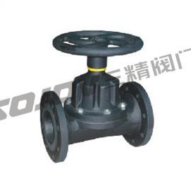 G46J-10直通式衬胶隔膜阀,碳钢隔膜阀