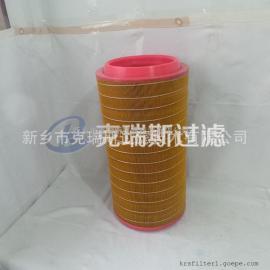 康普艾螺杆式空压机配件厂家空滤98262/205 空气滤芯加工