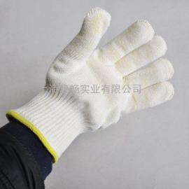 顶级灵活度钢材玻璃瓷器烘焙阻燃耐高温隔热处理防烫纱线手套