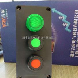 湖北BZA8050-A2D1全塑防爆防腐带灯按钮盒