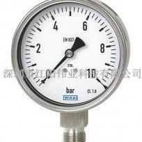 德国威卡232.50波登压力表 耐震不锈钢压力表