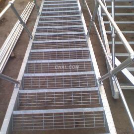 用于平台作业 扶梯踏板的镀锌钢格板价格报价