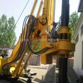 山东一工yg360双动力头大扭矩高品质低价格旋挖钻机