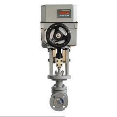 中国电子式电动套筒调节阀381电动调节阀PS电动调节阀