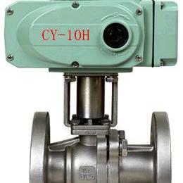 CY精小型不锈钢电动球阀Q941H-10P电动法兰球阀参数