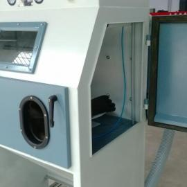 9060小型手动环保型喷砂机