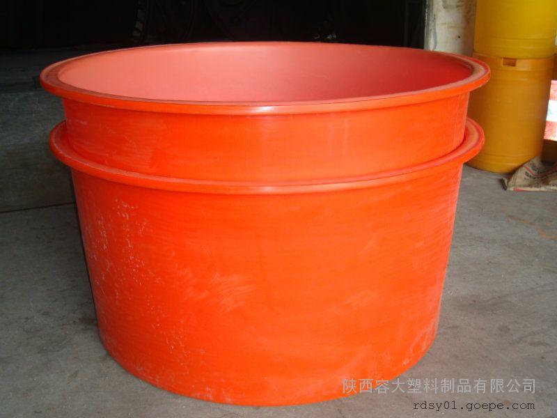西安 食品腌制桶 PE泡菜桶 西北塑料容器生产厂家
