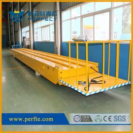 渣料废品运输可侧翻型电动平板翻斗车