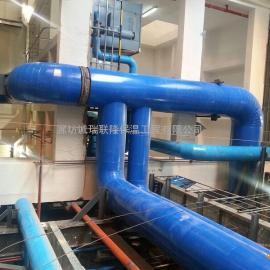 镀锌铁皮管道保温安装队 彩钢板岩棉管道保温工程