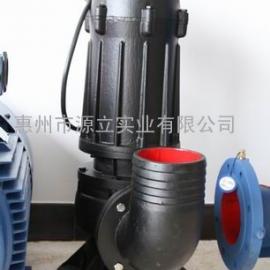 源立水泵厂家WQG10-11-0.75KW潜污泵污水泵直销